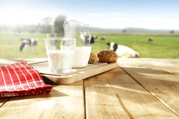 Crédit : lait par Shutterstock