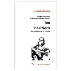 Pierre Bourdieu et Jean-Claude Passeron, Les héritiers, 1964