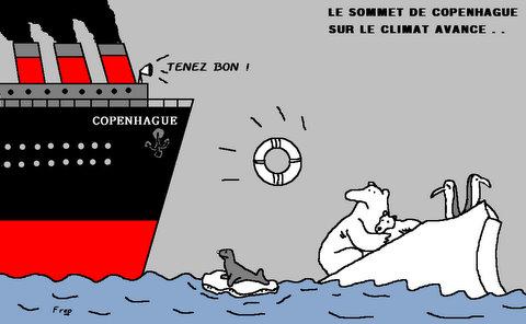 Le sommet de Copenhague sur le climat avance...