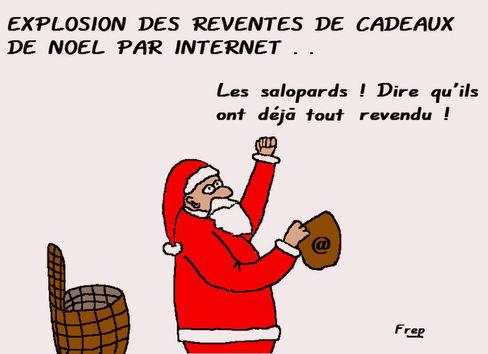 Explosion des reventes de cadeaux de Noël par Internet...