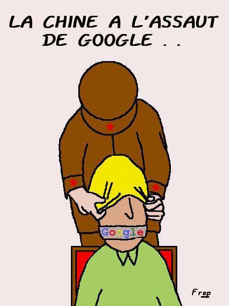 Google voit rouge...