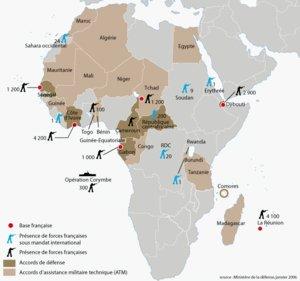 L'armée française  demeure omniprésente en Afrique