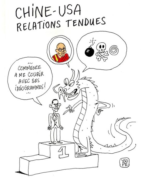 Chine-USA relations tendues