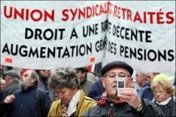 Des retraités précaires