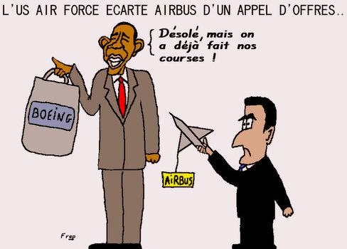 Airbus écarté d'un appel d'offres de l'armée américaine...
