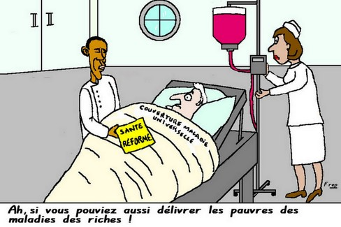 Obama fait adopter sa réforme sur la santé...