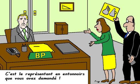 Marée noire : BP recherche  toujours la meilleure solution...