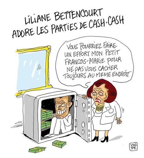 L'affaire Bettencourt, une histoire de cash...