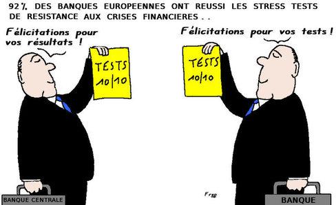 92 % des banques européennes passent avec succès les stress tests . .