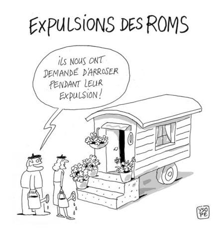 Expulsions de Roms : une politique condamnable