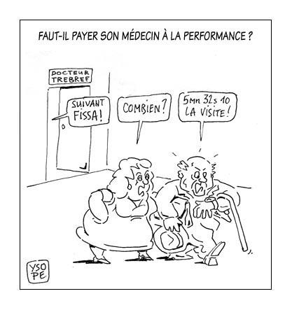 Médecins : la rémunération à la performance n'a pas séduit