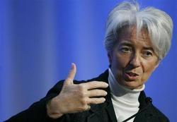 Christine Lagarde veut utiliser toutes les lames de son couteau suisse
