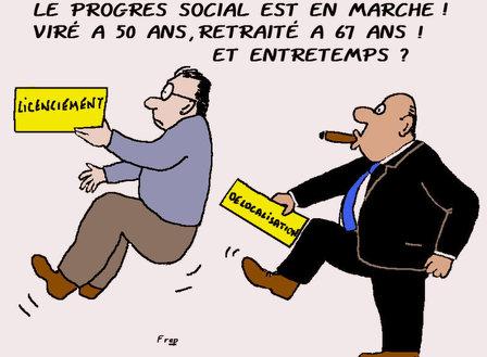 Le  progrès  social  en  retraite...