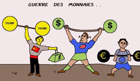Guerre des monnaies et guerre des changes...