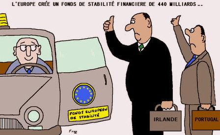 L'Europe veut créer un fonds de stabilité financière de 440 milliards
