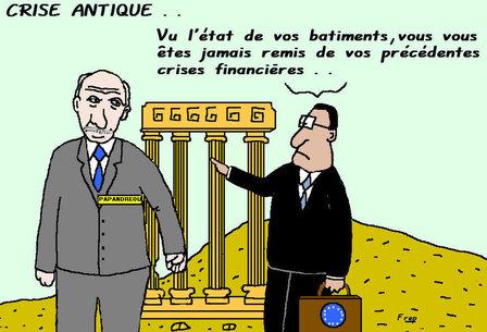 La Grèce  toujours  malade de  sa  dette...