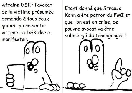 DSK : le bal des victimes