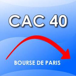 CAC 40 : chute de 20 % en un mois