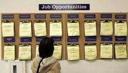 Le taux de chômage peine à descendre sous la barre des 9 %.