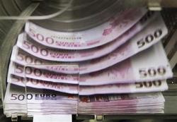 455 milliards d'euros déposés auprès de la BCE