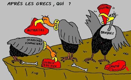 Les vautours rôdent