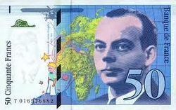 Billets en francs : l'État gagne 500 millions d'euros