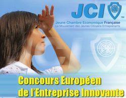12e concours européen de l'entreprise innovante