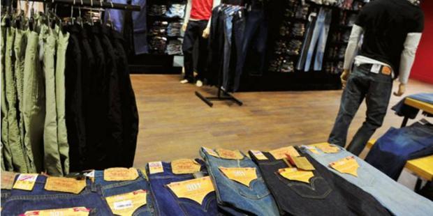 Forte baisse des ventes pour les enseignes de l'habillement en décembre 2019