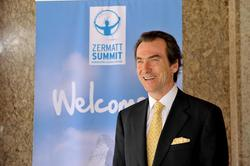 Christopher Wasserman, fondateur du Zermatt Summit