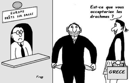 Le drame du drachme...