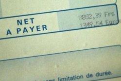 Un salaire médian de 1 610 euros par mois