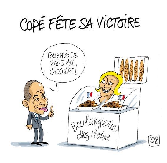 Qui a encore volé le pain au chocolat de Jean-François Copé ?