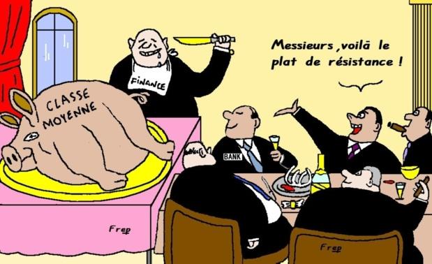La répartition des richesses....