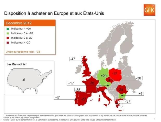 L'Europe voit rouge !