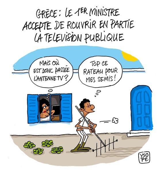 Les Grecs et le système D...