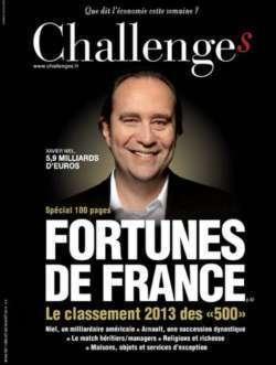 Le patrimoine des 500 Français les plus fortunés a progressé de 25 % en un an