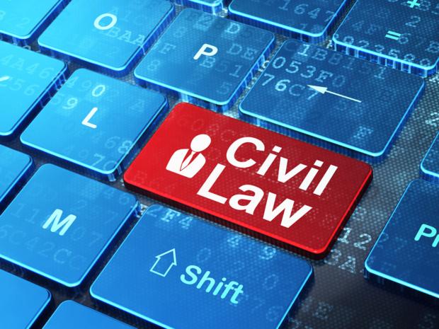 Crédit : code civil par Shutterstock
