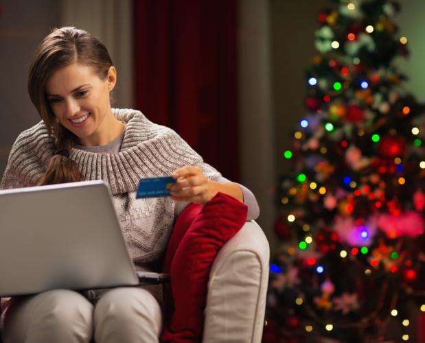 Crédit : achats de Noël par Suhtterstock