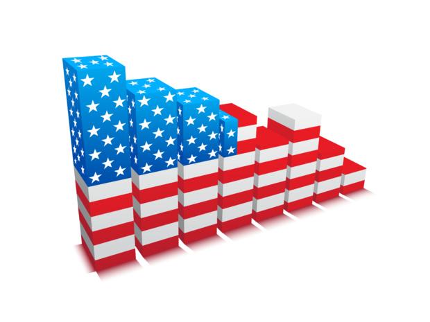 Crédit : croissance américaine par Shutterstock