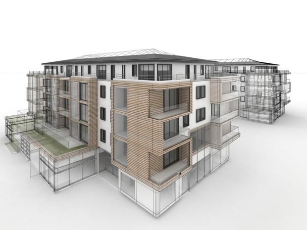 Crédit : projet immobilier en loi Pinel par Shutterstock