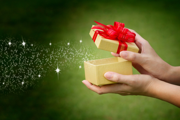 Crédit : magie de Noël par Shutterstock