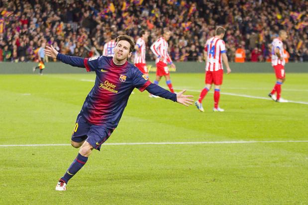 Crédit : Lionel Messi par Shutterstock