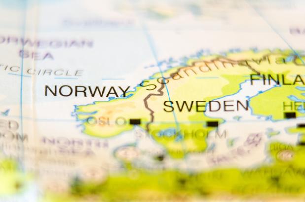 Crédit : pays nordiques par Shutterstock