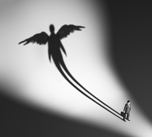 Crédit : business angel par Shutterstock