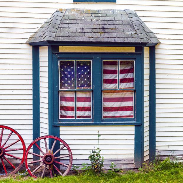 Crédit : immobilier américain par Shutterstock