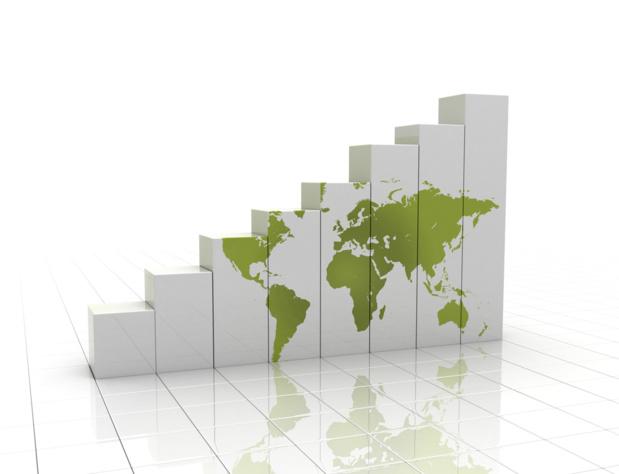 Crédit : croissance mondiale par Shutterstock