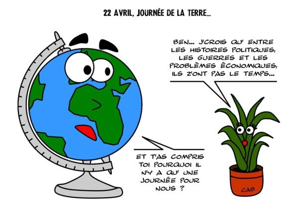 La Terre pleure...