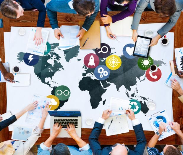 Crédit : mondialisation par Shutterstock