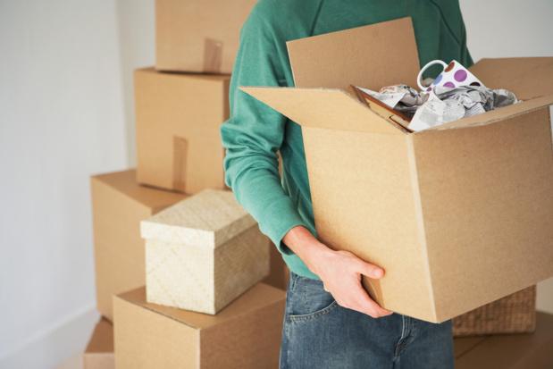 Crédit : déménagement par Shutterstock