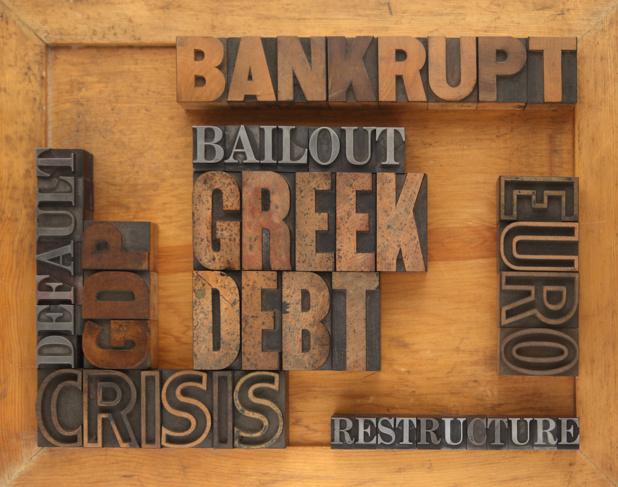 Crédit : dette grecque par Shutterstock